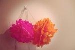 Kwiaty z bibuły jako dekoracja mieszkań