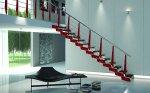 Praktyczne schody z materiału egzotycznego